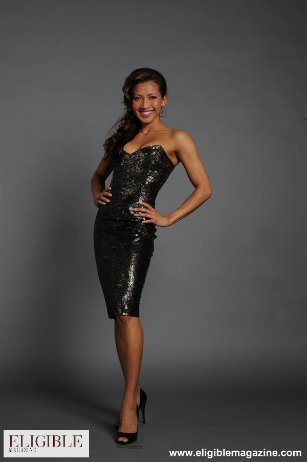 Peter Soronen Bronze Sequin Strapless Dress - Rental $225.00 - Retail $1275.00