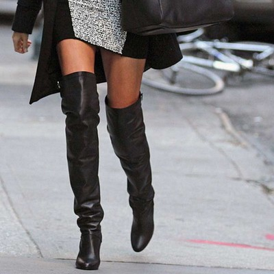 Over the Knee Boot Trend Fall 2013