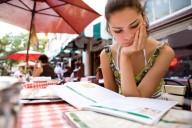 unhappy-woman-lookin-at-menu