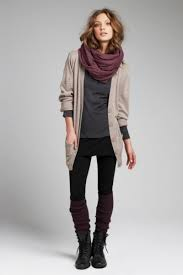 fall layer scarf