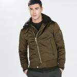 zara jacket with fur collar