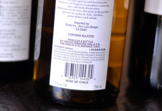 Sulfites And Wine
