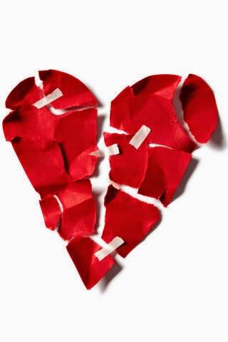 Heartbreak pain