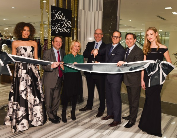 Saks Fifth Avenue celebrates the opening of its Toronto Flagship held on February 18, 2016 photo George Pimentel