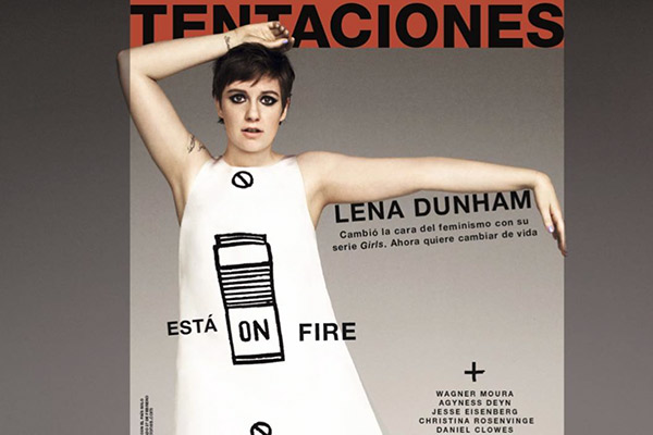 Lena Dunham's Stance On Photoshopping