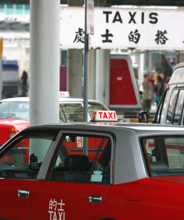 Taxi Rank In Hong Kong