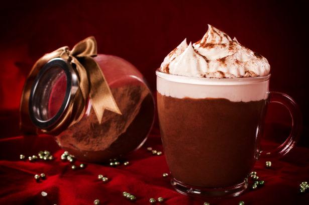 Sweet cream and chocolate