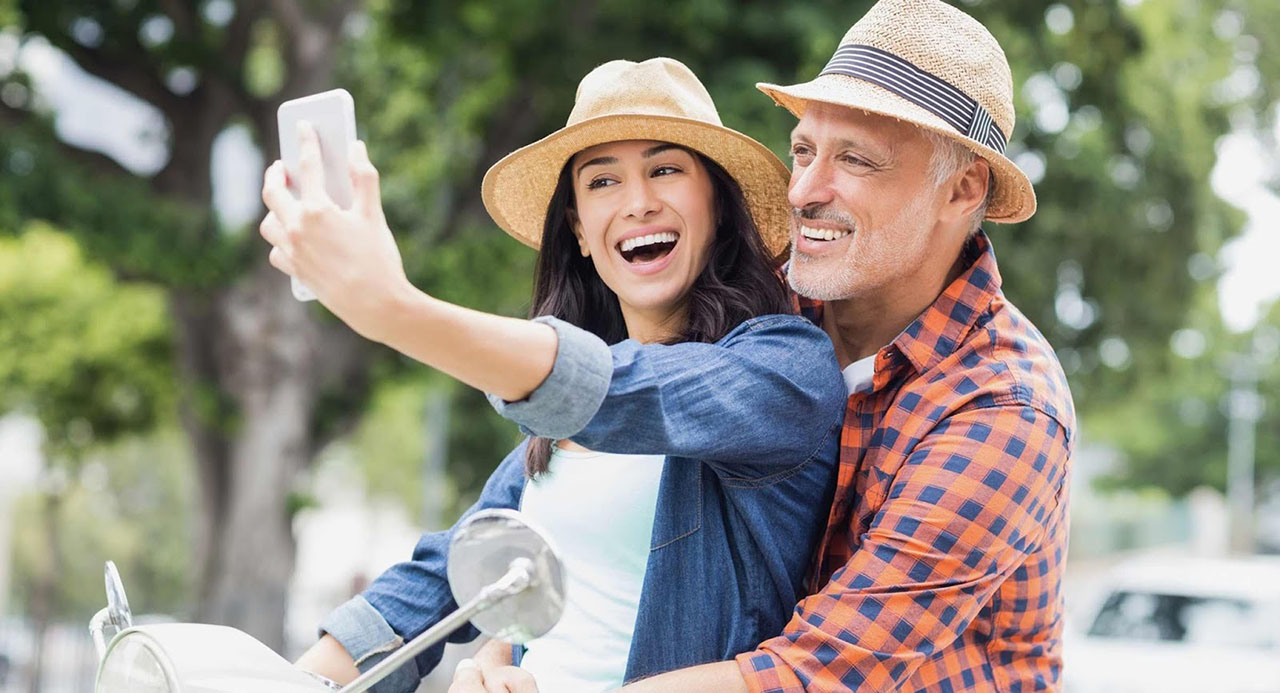 The pros and cons of dating an older man